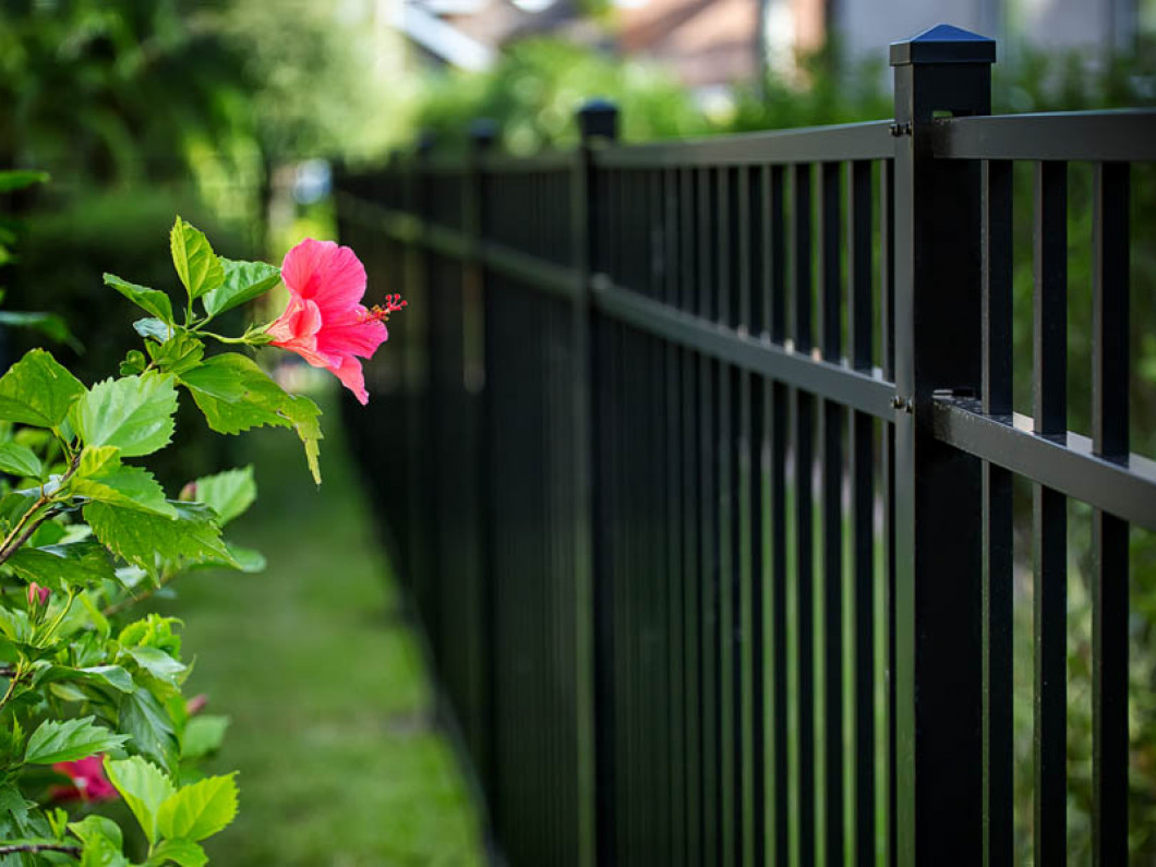 Protect Your Yard With an Aluminum Fence